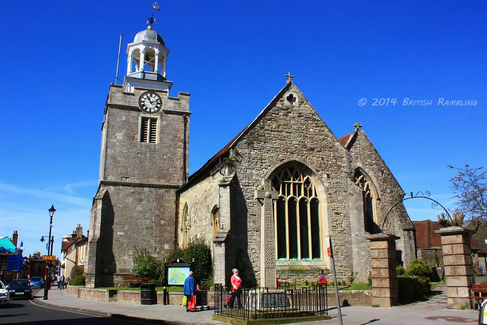 Церковь Св.Томаса (St.Thomas), г. Лимингтон, Новый Лес, графство Хэмпшир