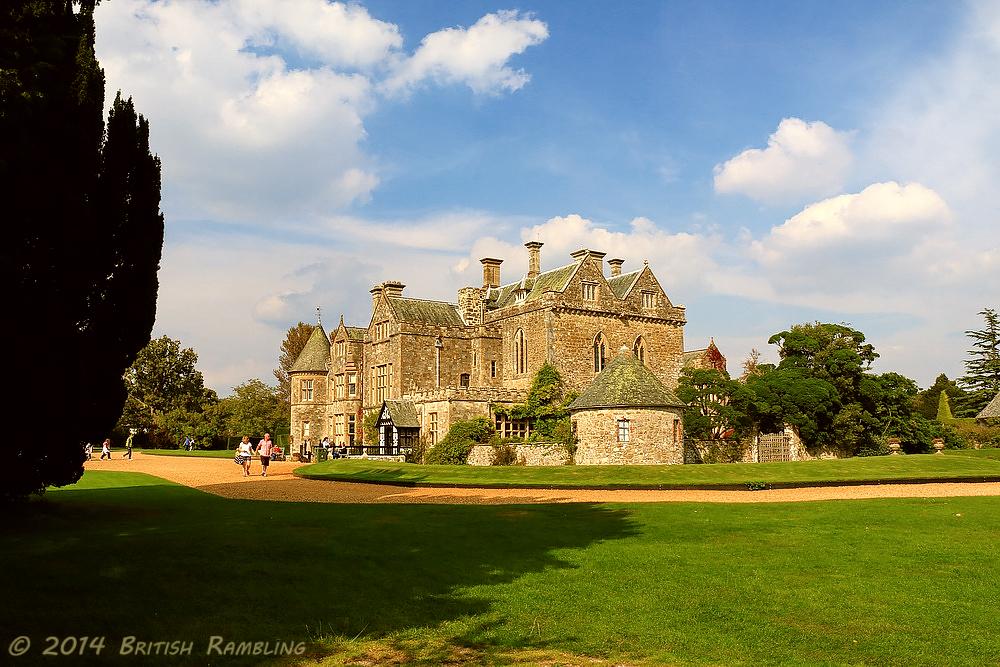 Деревня Бюли, замок семьи лорда Монтагю, графство Хэмпшир, Англия