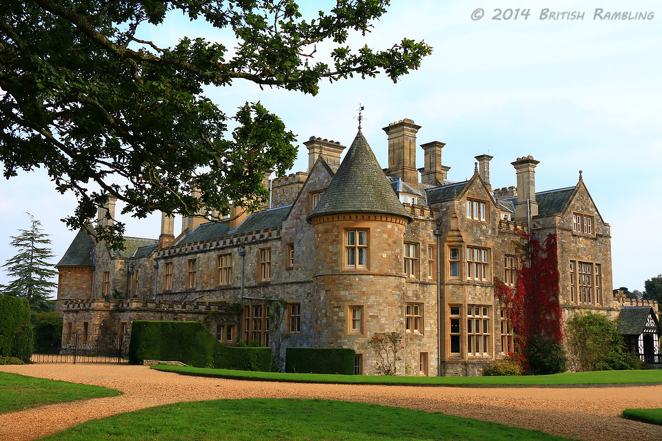 Деревня Бюли, родовое поместье семьи Лорда Монтагю Palace House, графство Хэмпшир