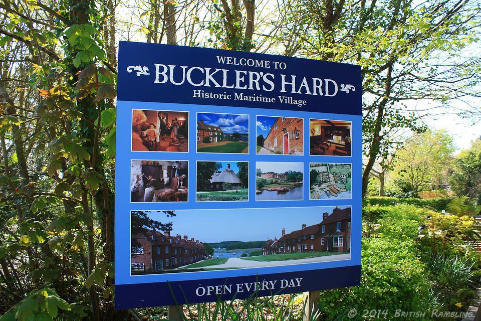 Морская верфь Баклерс Хард, графство Хэмпшир, Англия