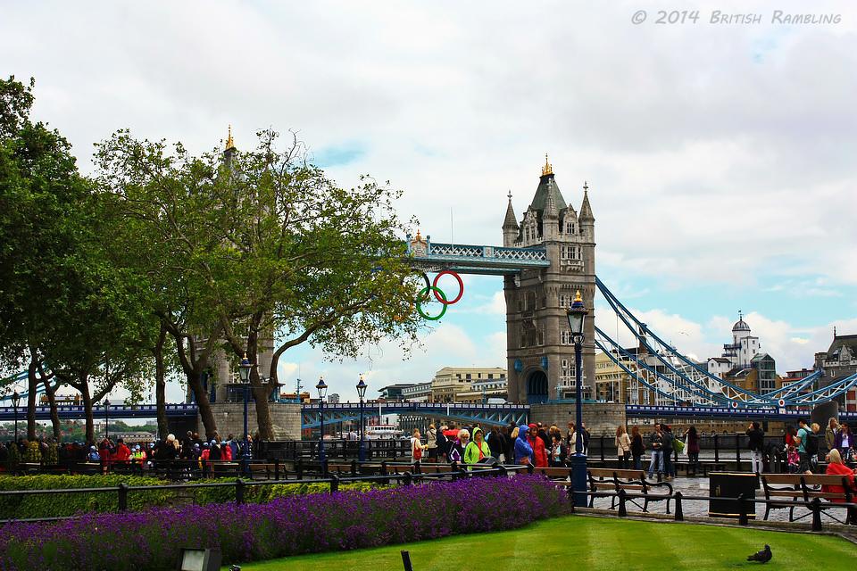 Тауэрский мост, Лондон, Англия.