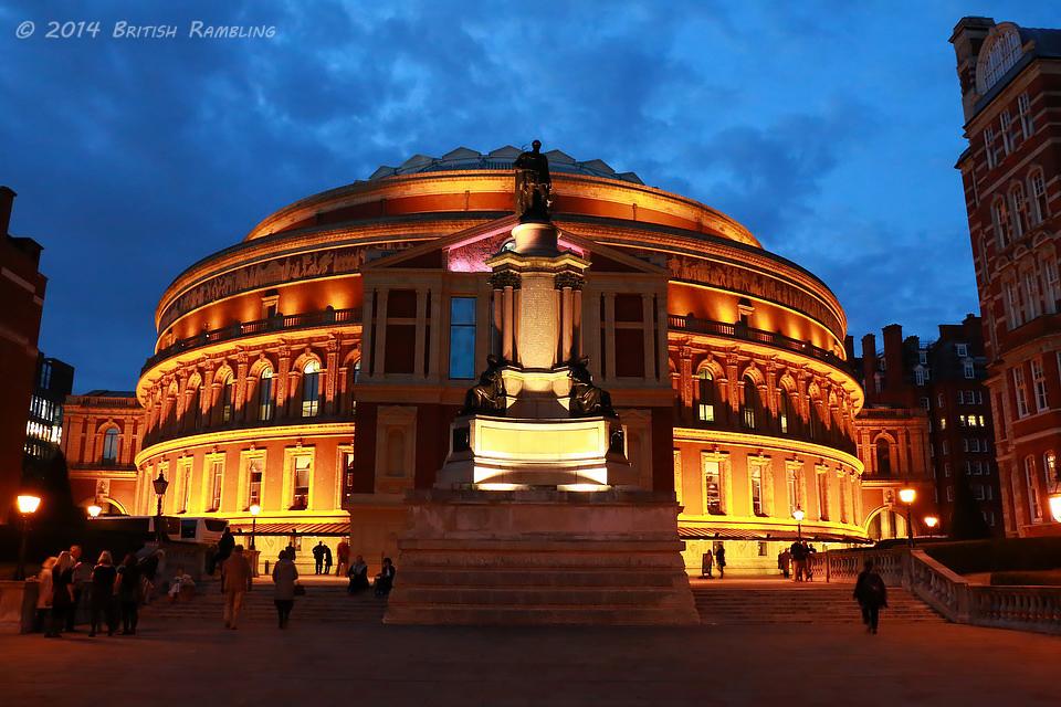 Королевский Альберт Холл, Лондон, Англия.