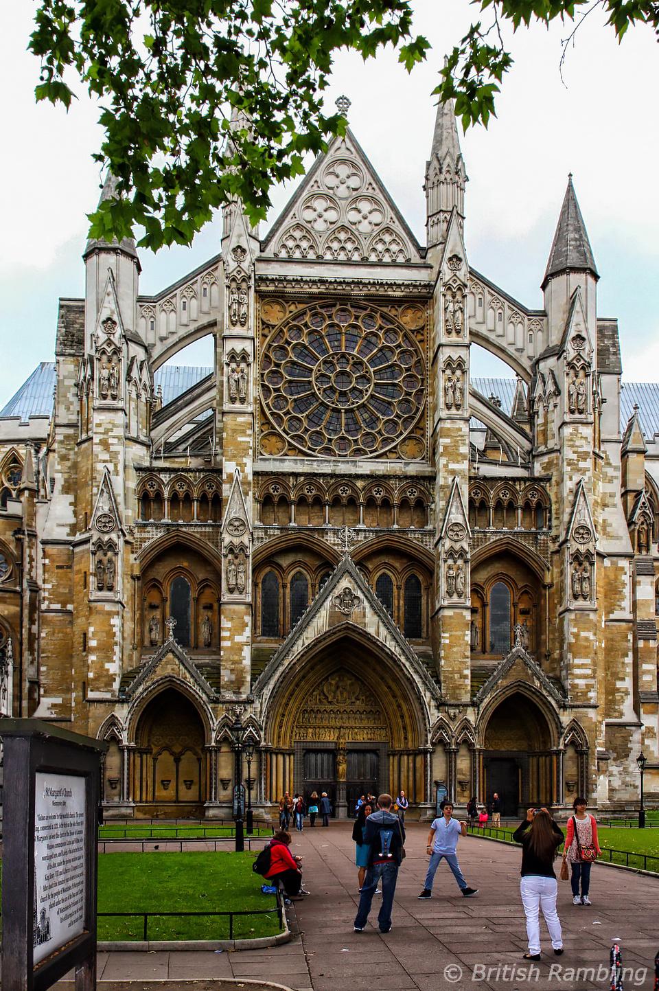 Вестминстерское аббатсво, Лондон, Англия.