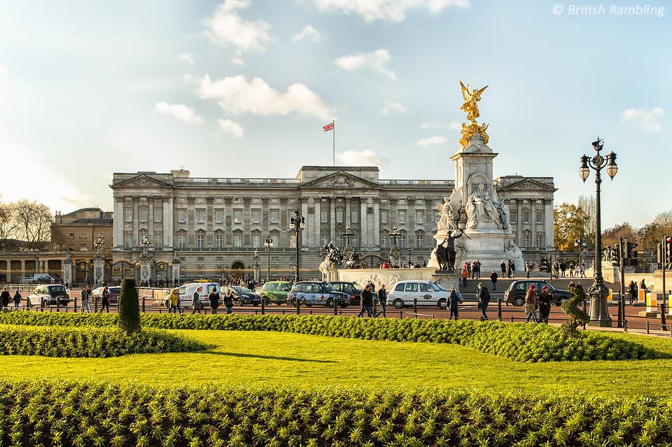 Букингемский дворец, Лондон, Англия.