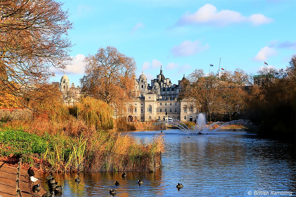 Сент-Джеймский парк, Лондон, Англия.