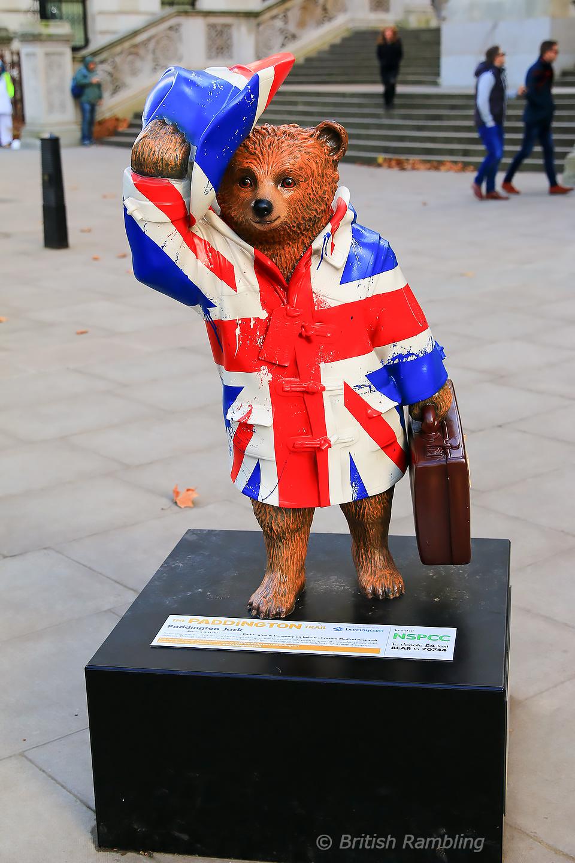 Паддингтонский мишка, Лондон, Англия.