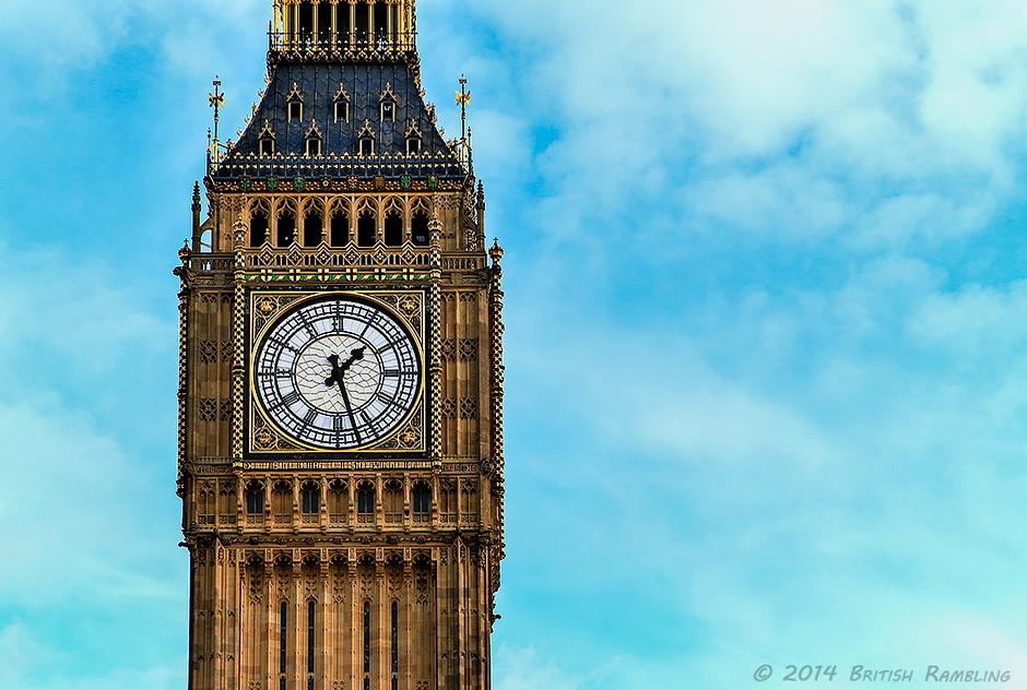 Биг Бен, Лондон, Англия.