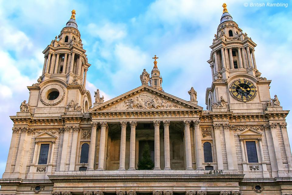 Собор Св.Павла, Лондон, Англия.