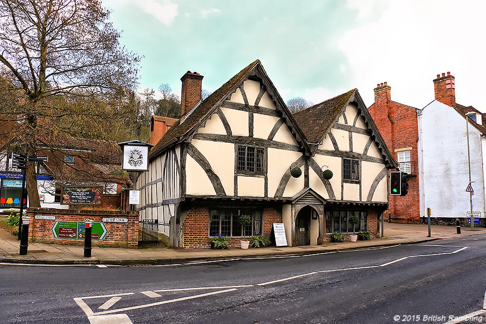 Паб Chesil Rectory, Уинчестер, Англия.