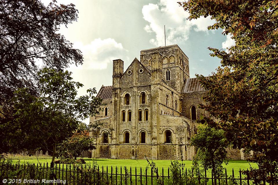 Госпиталь Святого Креста в Уинчестере, графство Хэмпшир, Англия. Hospital of St.Cross, Hampshire, England