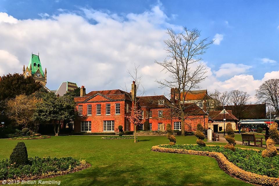 Сады Аббатства (Abbey Gardens), Уинчестер, Англия.
