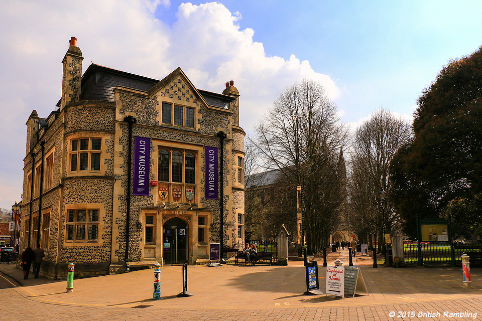 Городской музей, Уинчестер, Англия.