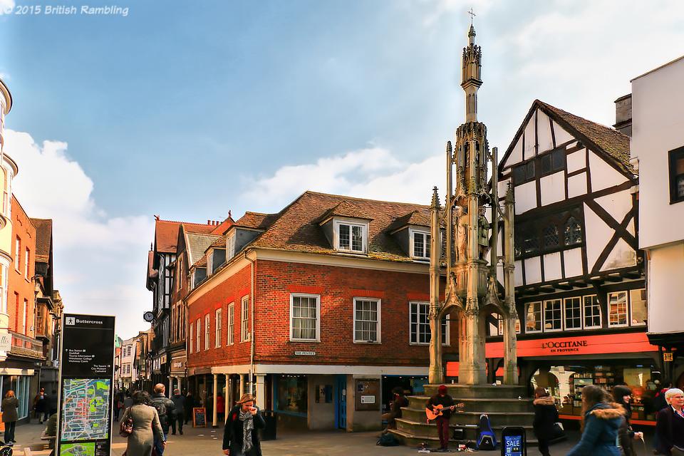 Buttercross или Рыночный Столб, Уинчестер, Англия.
