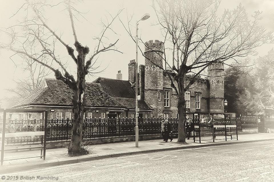 Аббатский дом (Abbey House), Уинчестер, Англия.