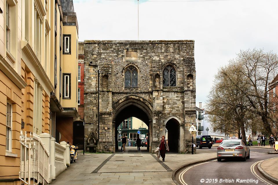 Западные ворота города (West Gate), Уинчестер, Англия.
