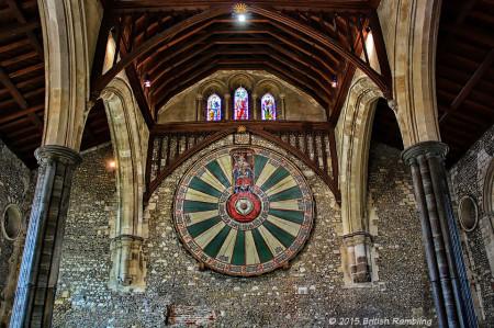 Круглый стол Короля Артура, Уинчестер, Англия.