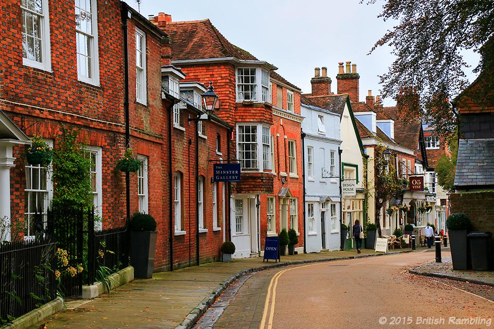 Улица в Уинчестере, графство Хэмпшир, Англия
