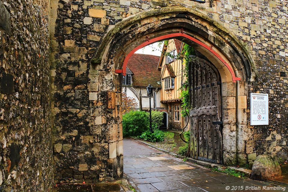Чейни Корт, Уинчестер, Англия.