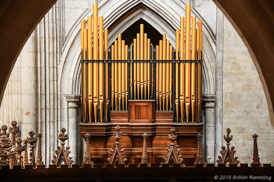 Орган Уинчестерского собора, Уинчестер, Англия.