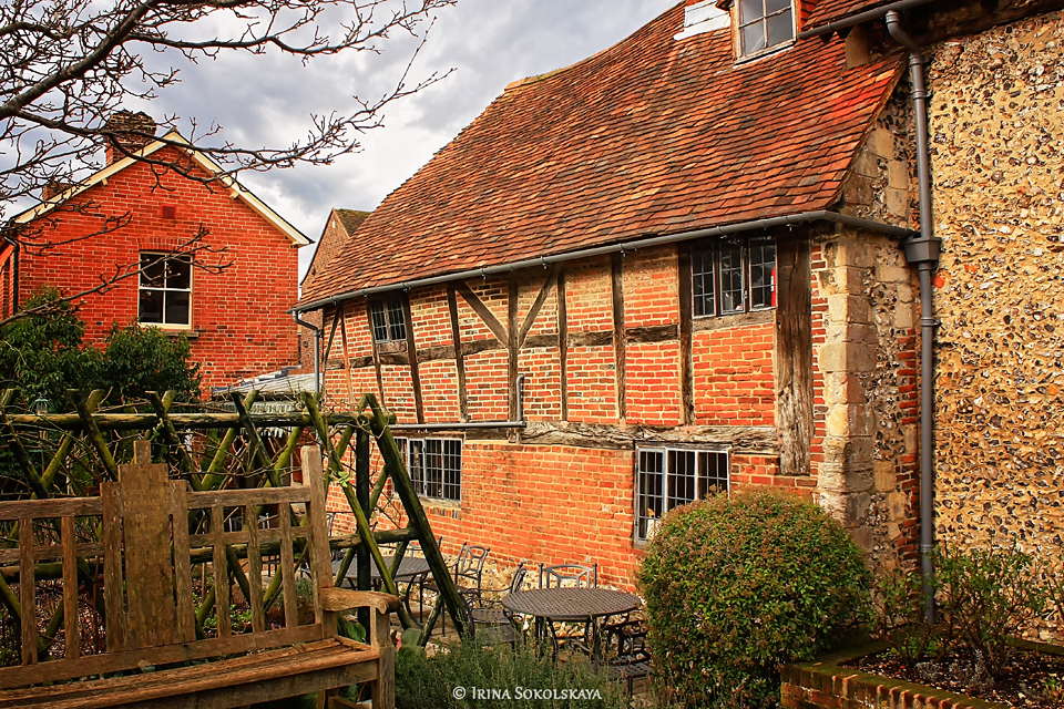 King John's House в Ромзи, графство Хэмпшир, Англия