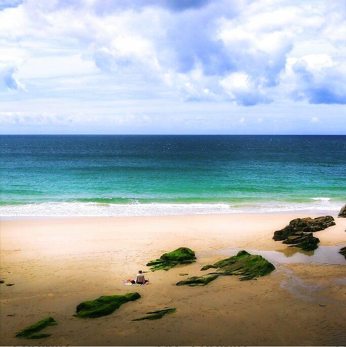 Rinsey Beach, графство Корнуолл, Англия