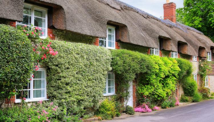 Английская деревня, графство Дорсет