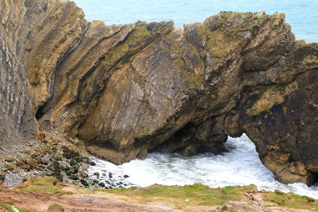 Stair Hole, побережье Юрского периода.