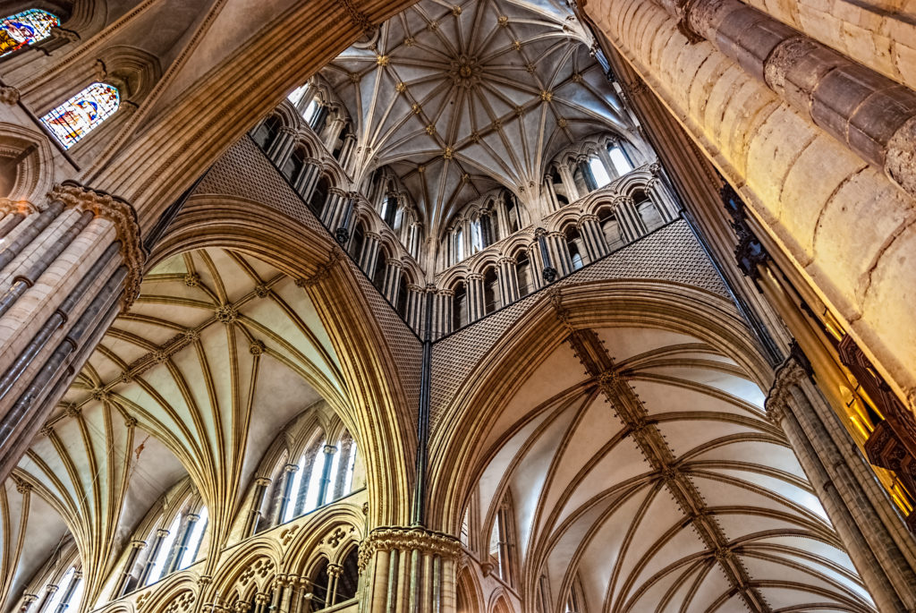 Lincoln Cathedral by Gary Campbell Hall