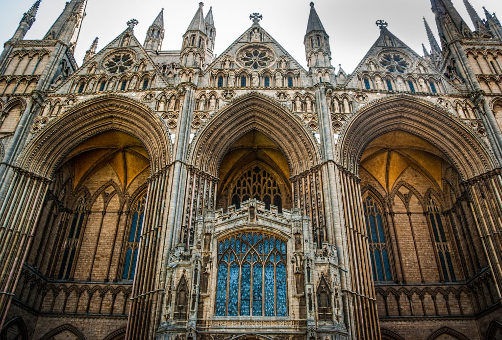 Peterborough Cathedral by Gary Campbell Hall
