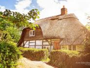 Английская деревня, графство Хэмпшир.