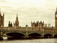 Вестминстерский дворец и Биг Бен, Лондон, Англия.