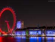 Лондонский глаз, Англия.