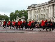 Смена Караула у Букингемского дворца, Лондон, Англия.