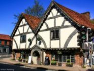 Ресторан Chesil Rectory, Уинчестер, Англия.