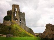 Замок Корф, графство Дорсет, Англия.