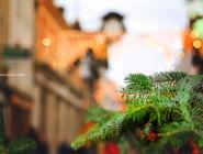 Рождество в Уинчестере, графство Хэмпшир, Англия.