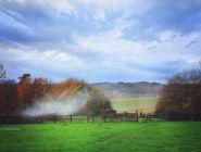 Английская деревня графство Хэмпшир.