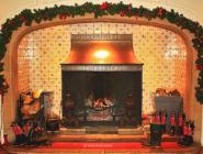 Английский дом на Рождество