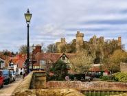 Деревня Арундел, графство Западный Сассекс, Англия