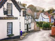 Английская деревня, графство Херефордшир.