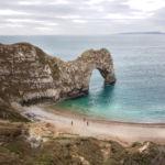 Скалистая арка Durdle Door, побережье Юрского периода